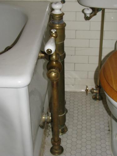 Antique faucet repair